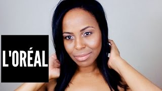 l oral infallible pro glow foundation swatch review video i bybare