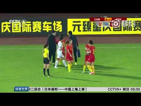 Women's Football - China 1-2 North Korea