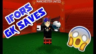 [ROBLOX] IFoRS GK MONTAGE | BEST GK SAVES COMPILATION #4