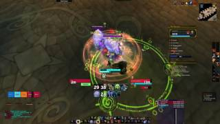 mythic 7 the arcway legion wow beta unholy dk pov babyjace
