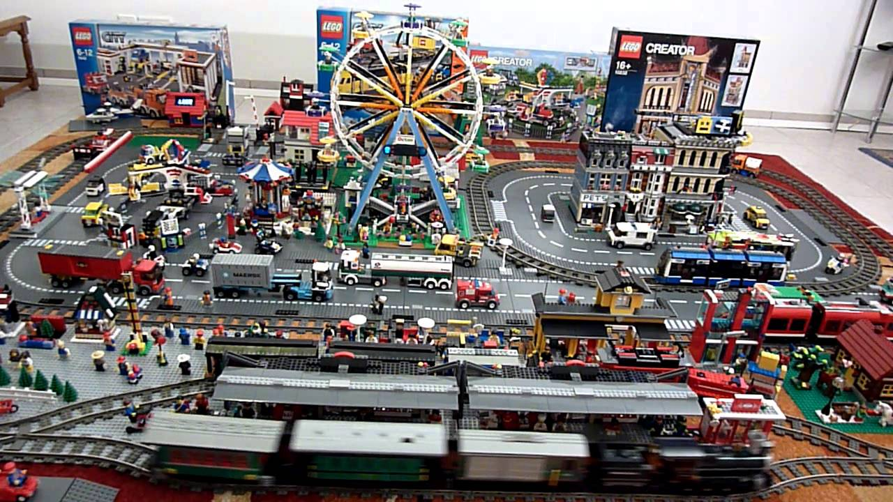 youtube lego city eisenbahn