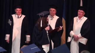 Благодарственная речь в день получения диплома - выступает Саенко В.В. -