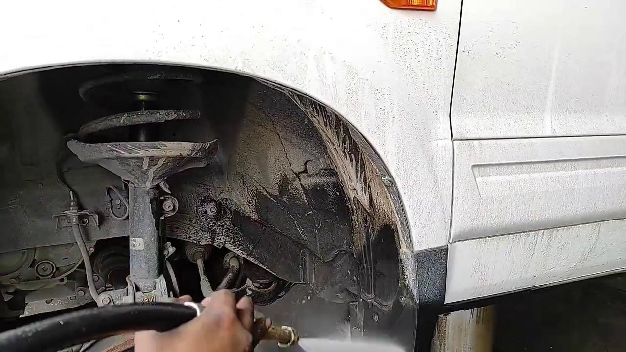 lavado y engrasado a vapor Honda Pilot
