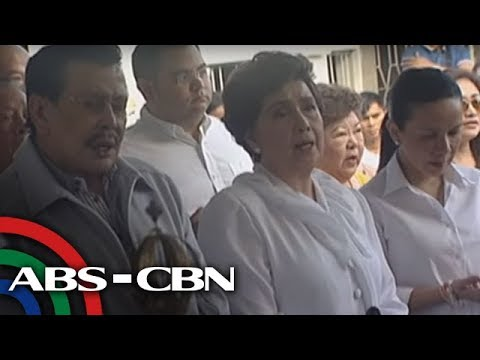 Erap, Lim cross paths at FPJ's death anniversary