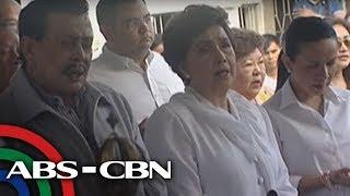 Bandila: Erap, Lim cross paths at FPJ's death anniversary