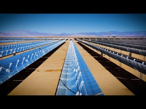 Noor Ouarzazate: world's largest Concentrated Solar Power Complex | Total