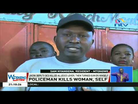 Likoni deputy OCS kills 'lover', shoots self