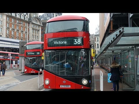 London Buses - Route 38 - Clapton Pond to Victoria via Piccadilly Circus