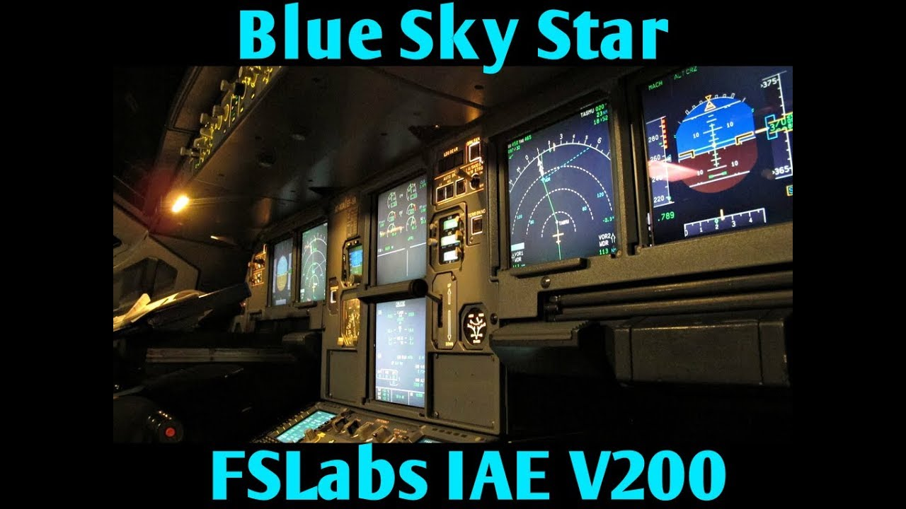 Soundpack for FSLabs A320X IAE V2500 Soundpacks for FSLabs A320