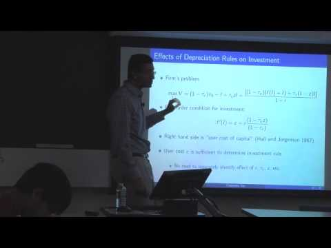Topic 8: Corporate Taxation Part 3 | Economics 2450A: Public Economics
