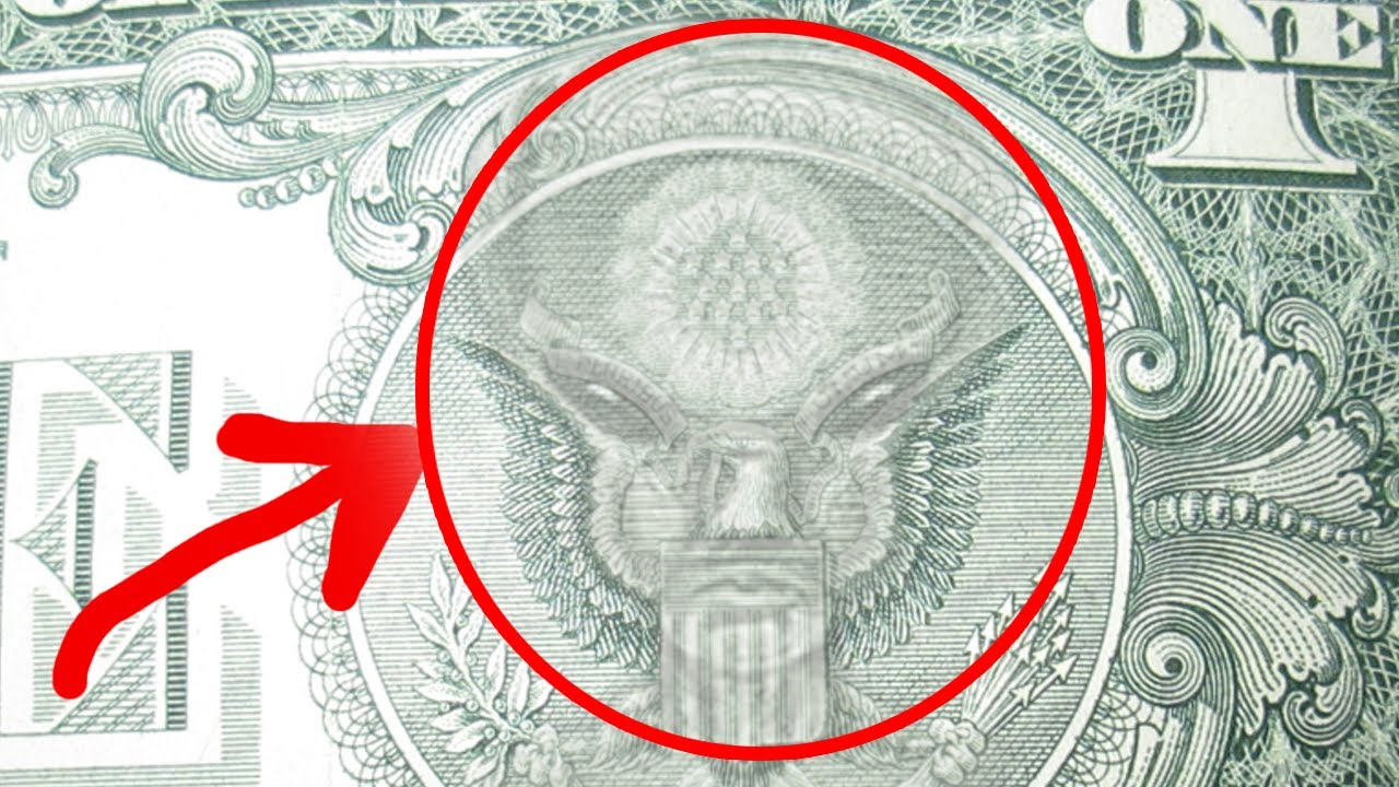 Un extraterrestre en el billete de 1 dolar? - YouTube