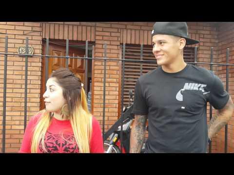 Meneka le canta a Marcos Rojo