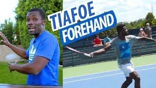 Forehand Swing Analysis - Frances Tiafoe