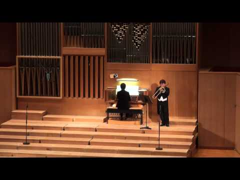 A song for japan Trombone and Organ