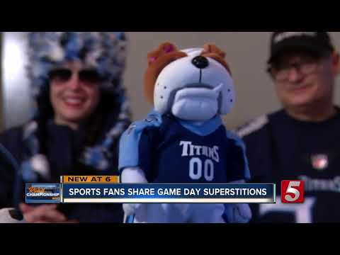 Superstitions play a role in sports fanatics' way of life