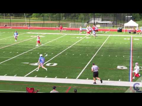 Tony Terraciano Summer of 2017 Lacrosse Highlights