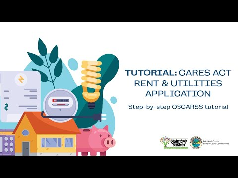 How to Apply for CARES Act - Rent & Utilities Assistance through CSD's OSCARSS