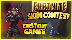 SKIN CONTEST CUSTOM GAMES  - Fortnite Live Deutsch [FACECAM] #skincontest #live #customgames