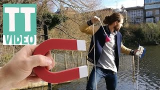 One of TREADER TUBE's most viewed videos: Unusual Surprise Magnet Fishing First Time in London