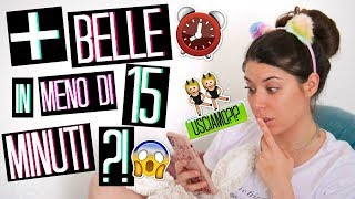 HOW TO BE BEAUTIFUL IN LESS THAN 15 MINUTES ?!? GET READY WITH ME!