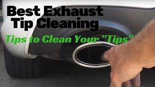 Best Exhaust Tip Cleaning: plus business tips that will separate you from the rest!
