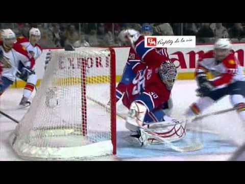 Auld saves on Bernier and Timmins, Kostitsyn block on Ellerby (2011-02-02)