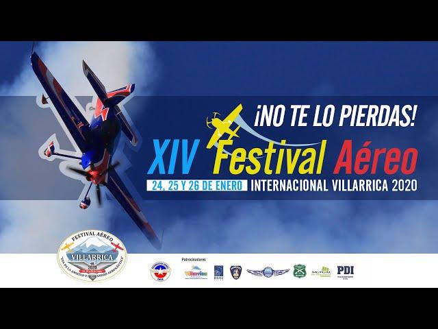 Spot Festival Aéreo Villarrica 2020 | 24, 25 Y 26 de enero