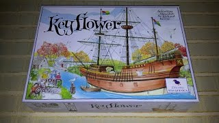 Explico el juego Videoreseña nº 18: KEYFLOWER