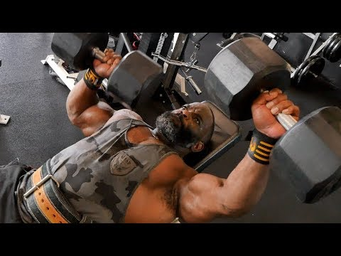 REAL and RAW Chest Training with Johnnie Jackson