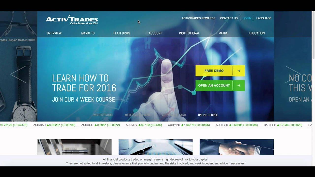 Active Trades