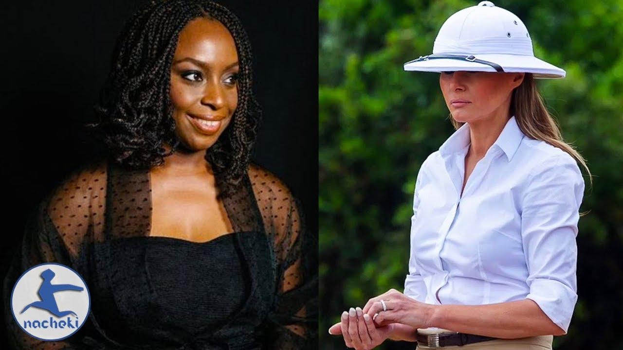 Acclaimed Nigerian Author Chimamanda Calls Melania Trump a Racist