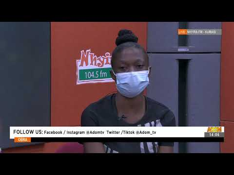 Father of my two children abandons us - Woman cries - Obra on Adom TV (13-9-21)
