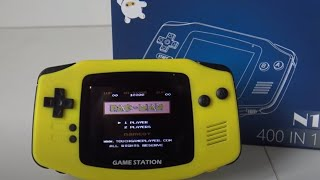 "Game Boy Advance Mini Classic Pac-Man Review | N1 China 8-bit  ""400 in 1"" Handheld"