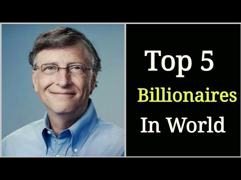 Top five 2019 Billionaires | Forbes | Rich people 2019 | Top five