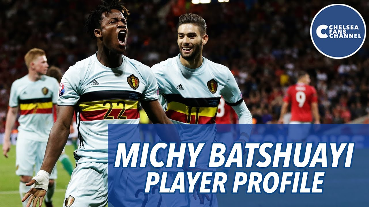 Michy Batshuayi Signs for Chelsea