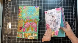 Start to Finish World Bazaar Journal - Prep, Selection, Sewing in Signature - Part 1