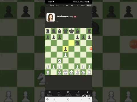 Played with Pokimane bot on chess.com