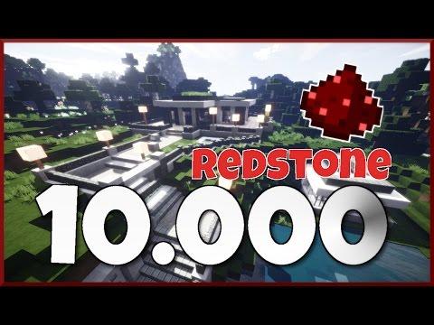 REDSTONE PISTON HAUS   10.000 Abonnenten Special MINECRAFT