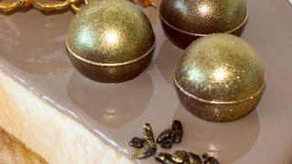 Зеркальная карамельная глазурь   Caramel Mirror Glaze Recipe