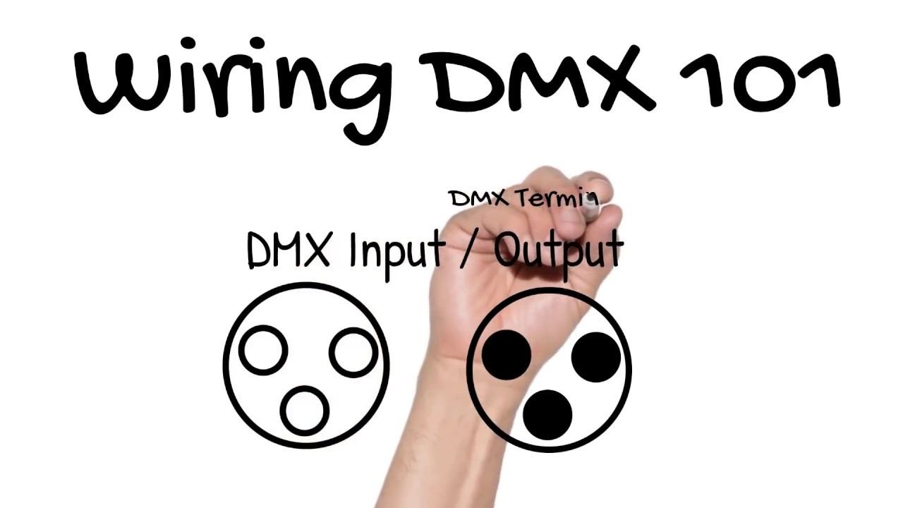 How to Wire DMX for Stage Lighting – Learn Stage Lighting .com  Pin Dmx Wiring Diagram Free Download on