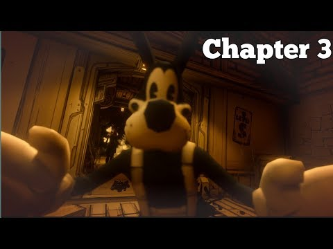 BENDY AND THE INK MACHINE CHAPTER 3 GAMEPLAY WALKTHROUGH