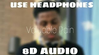 MBA Youngboy - Valuable Pain | 8D AUDIO