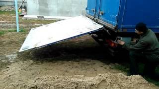 гидроборт BAR Cargolift(, 2016-10-15T17:02:19.000Z)