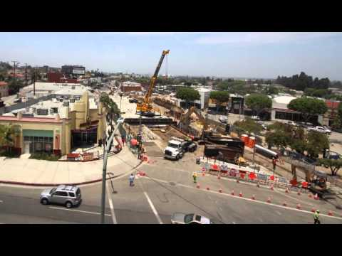 Crenshaw/LAX Vernon Time Lapse Video