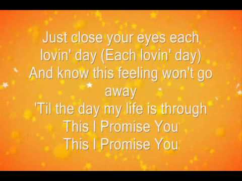 This I Promise You by N'Sync (Lyrics)