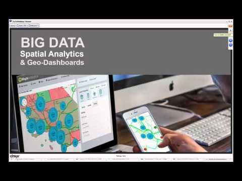 Spatial Data Blending and Geo Dashboards