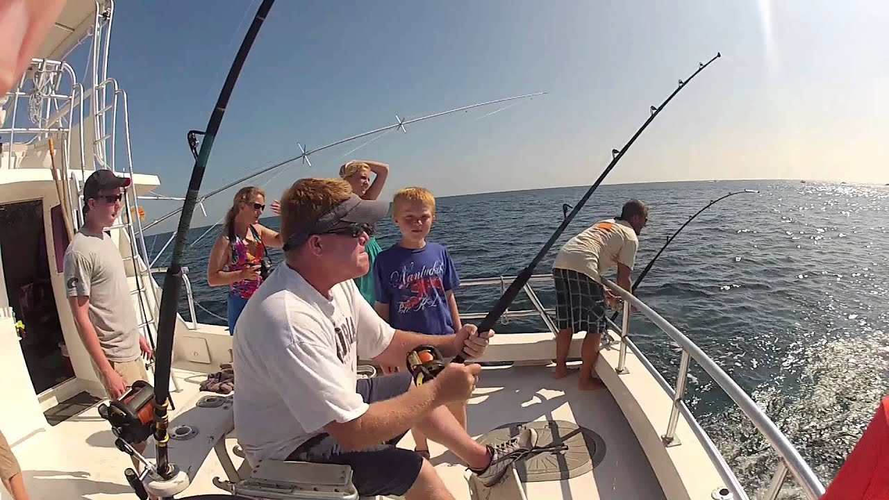 Deep sea fishing st augustine 2012 youtube for Fishing st augustine