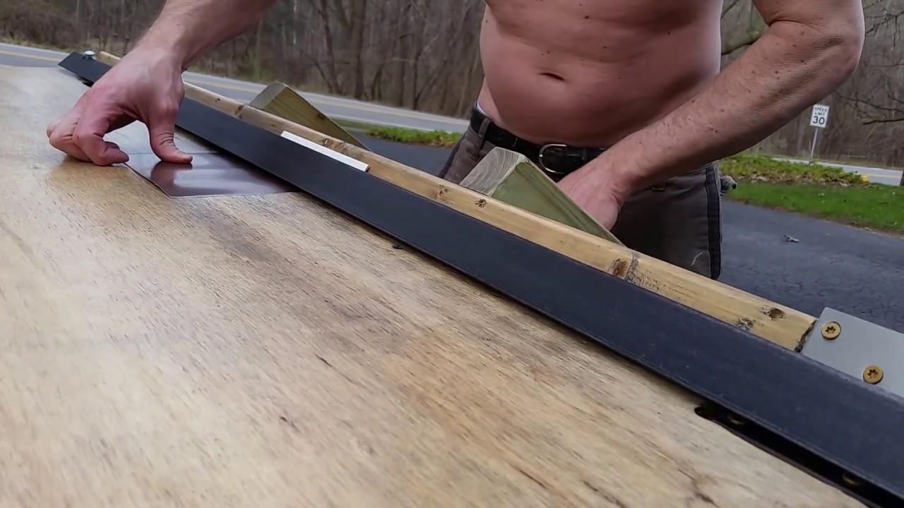 60 Quot Diy Metal Break No Welding Angle Iron Youtube