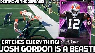 JOSH GORDON CATCHES EVERYTHING & DESTROYS DEFENSES! Madden 18 Ultimate Team