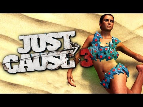 C4 BIKINI - Infinite C4 Mod - Just Cause 3 Funny Moments